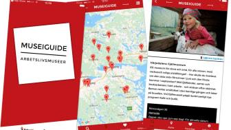 Museiguiden i app-format gör det lätt att hitta ett arbetslivsmuseum i närheten
