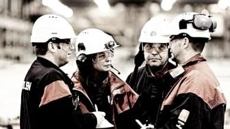 Onsdagen den 12 februari träffas skyddsombud, arbetsledare m fl från hela den svenska gruvindustrin i Luleå. Foto: Boliden