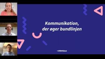 Key takeaways fra Mynewsdesk webinar: Kommunikation, der øger bundlinjen