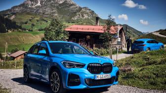 Nye BMW X1 xDrive25e og BMW X2 xDrive25e: To nye ladbare SUV-modeller fra BMW