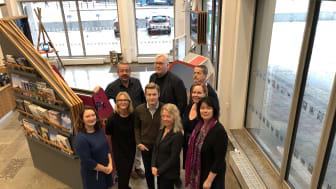 Styrgrupp och projektgrupp för Visit Hornborgasjön samlade för summering av projektet. Foto. Next Skövde