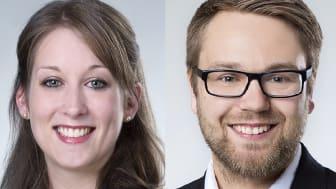 Die Studienberater Janina Reichert, Steffen Robert.