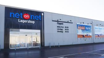 NetOnNet Lagershop Svågertorp.  Foto: Kristoffer Stäringe