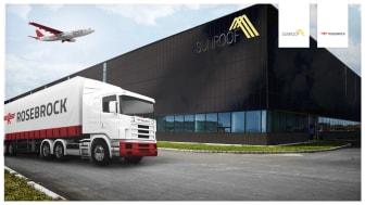 Den enkla vägen till solenergi - Rosebrock går in som logistikpartner till SunRoof