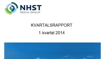 Kvartalsrapport 1. kvartal 2014