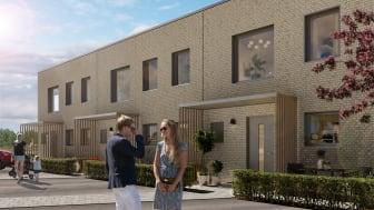 Lyckos köper bostadsmark av HSB i Häljarp