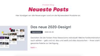 Wichtige Updates für Kunden im neuen Produkt-Blog