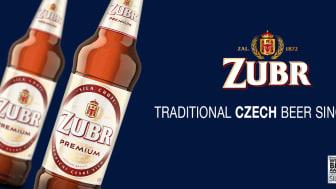 ZUBR Premium - Prisbelönt tjeck med traditioner lanseras på Systembolaget 1 september