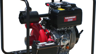 Mastry Engine Center has introduced the YANMAR engine-driven Maspower MPW2.5PE Portable High Pressure pump for dockyard repair work and marine construction applications