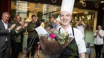 Thilda Mårtensson från Stockholm vinnare i Gastronomi Sverige Commis Award 2020