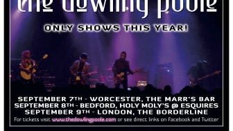 The Dowling Poole gig flyer 2017
