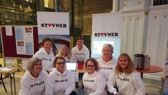 STOLTE STOVNER: Ansatte i Bydel Stovner dro til Trondheim for å rekruttere de beste til barnehagene i bydelen.