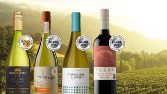 Prisvärda medaljvinnare i Vinordic Wine Challenge