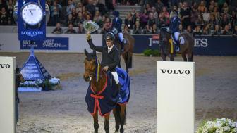 Rolf-Göran Bengtsson och Oak Grove´s Carlyle vann Gothenburg Trophy 2019. Foto: Johan Lilja