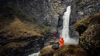 Det er ikke bare regnvær som gjør at du trenger vanntette klær. Foto: Bergans / Hans Kristian Krogh-Hanssen
