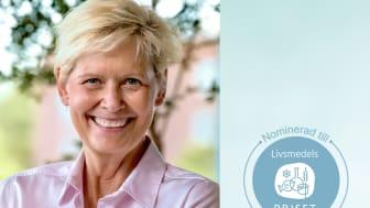 Maria Forshufvud, vd Svenskmärkning, är nominerad till Livsmedelspriset 2020 av Nätverket Livsmedel i fokus.