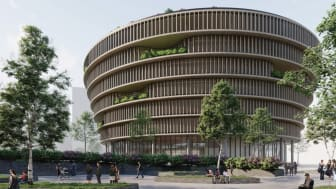 Vectura Fastigheter väljer arkitektbyrån 3XN för Forskaren och inleder samarbete med Tekniska museet