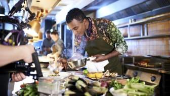 Marcus Samuelsson, kreativ chef för Kitchen & Table