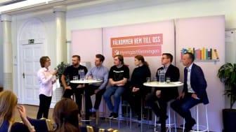 Panelsamtal om Unga vuxnas boende 2019 i Malmö/Lund-området