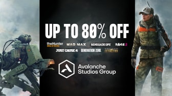 Avalanche Studios Group Celebrates 18 Years – Announces New Game Content and Steam Sale