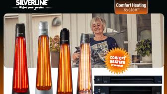 Behagliche Wärme für Heim und Garten mit Silverline Comfort Heating system!