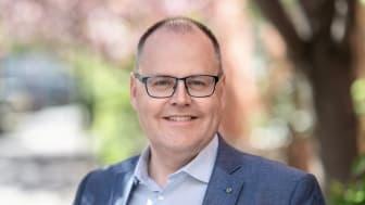 Johan Nyhus, ny förbundsordförande på HSB