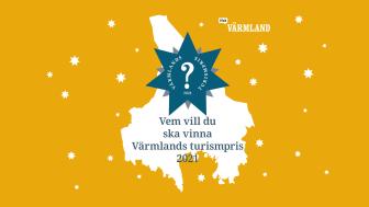 Nu är det dags att nominera till Värmlands Turismpris 2021