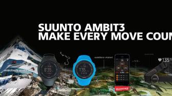 Spåra, analysera, berika, återupplev och dela sportupplevelser och äventyr med nya Suunto Connected Family
