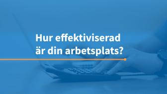 Testa var på effektiviseringsskalan du och ditt företag befinner sig. Foto: Freepik/AddMobile