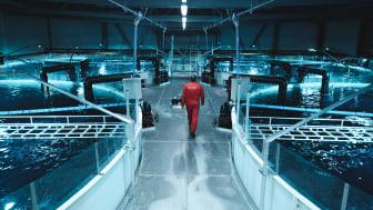 FREMTIDSRETTET: Cermaq Forsan tar i bruk ny teknologi. (Foto: Cermaq)