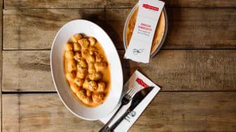 Nach sechsmonatiger Planungsphase erste L'Osteria Premium-Fertiggerichte für zuhause