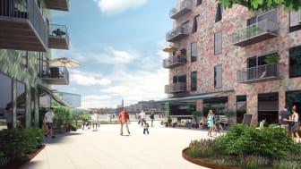 Riksbyggen förvärvar byggrätt för ny ungdomssatsning i Lindholmshamnen