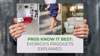 Pros know it best: EVORICH's Floor, Deck and Wall Products Explained