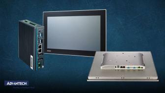 Industridatorer och monitorer från Advantech