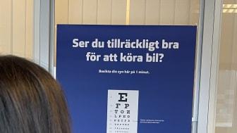 Pressinbjudan till Synbesiktningen, den 15 oktober:  Sveriges största syntest av bilförare – cirka 650 000 kör med olaglig syn