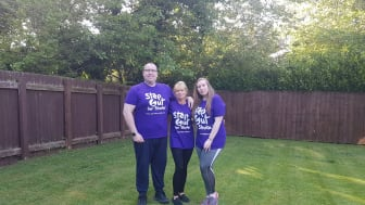 Survivors take a Step Out for Stroke in Middlesbrough