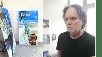 Tomas Herngren har han haft ett stort antal separatutställningar - nu är det dags för utställning i Lindesberg.