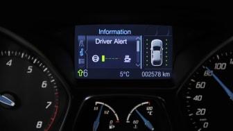 FOCUS SAFETY FEATURE - DRIVER ALERT