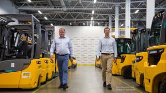 Nytt centrallager: Norska möbelfirman Bohus valde automationslösning från Jungheinrich
