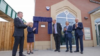 Kenilworth station is officially opened