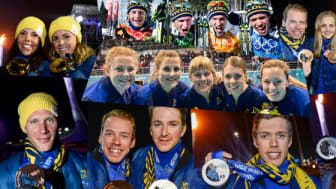 Möt årets OS-hjältar på Stockholm Arlanda Airport
