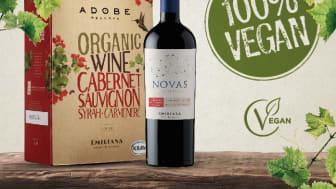 Fira internationella vegandagen med Emiliana Organic Vineyards