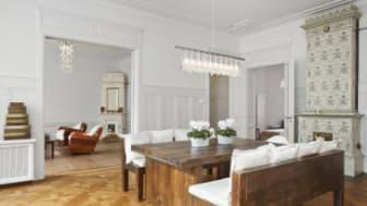 Lägenheter upplåtes i Brf Vindruvan 10:s byggnadsminnesförklarade fastighet på Hantverkargatan 22.