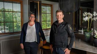 HR-sjef Trine Reinertsen og Trygve Berg, driftsleder i Oslo sentrum