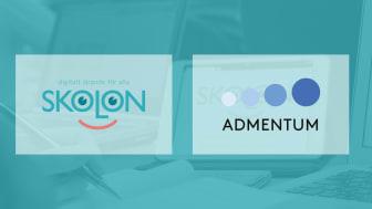Modernt administrationssystem och digitala lärresurser knyts samman - Admentum och Skolon i samarbete