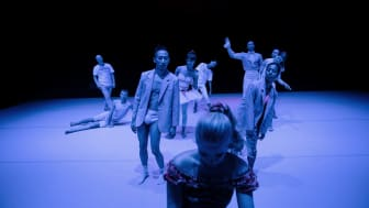 Pianofavoriter med Norrdans i koreografi av Martin Forsberg. foto: Carl Thorborg
