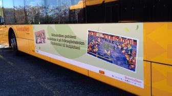 Skånetrafiken tar 1 600 skånska skolelever till finalen i Eurovision School Contest i Köpenhamn 7 maj