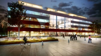Pressinbjudan: Nytt innovativt kontorshus – framtidens arbetsplatser visas på fullsatt seminarium
