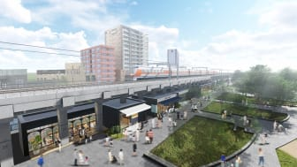 """Tobu selects """"TOKYO mizumachi"""" as Name of New Complex under Elevated Railway Tracks and""""Sumida River Walk"""" as Name of New Footbridge Spanning the Sumida River"""