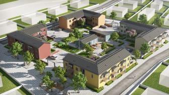 Tuusulan asuntomessuilla 2020 esitellään Skanskan ja IKEA-konsernin BoKlok-koteja